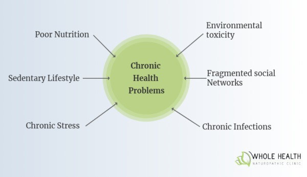 Contributing factors to chronic disease